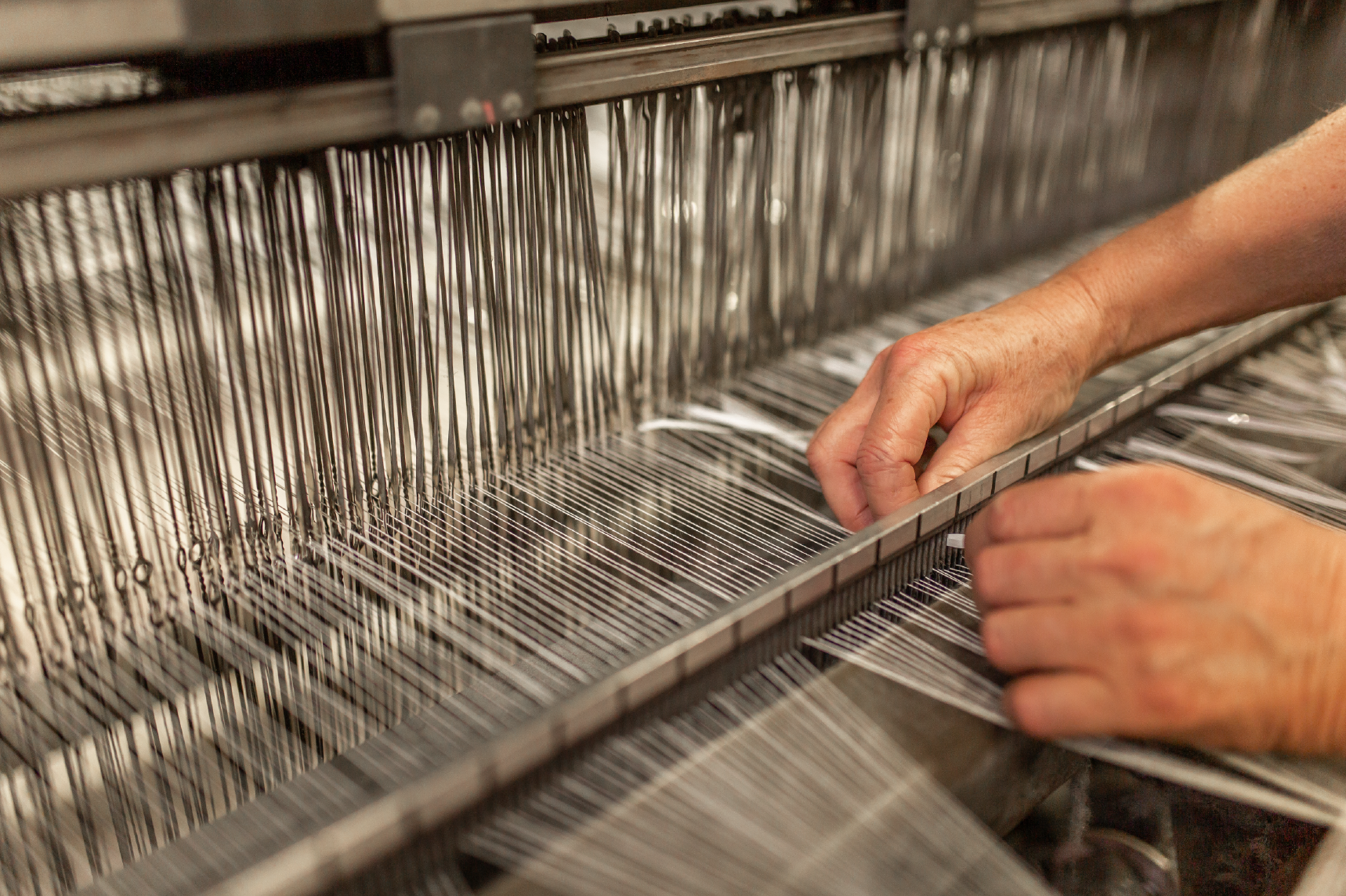 Start up weaving process